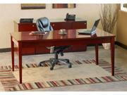 Luminary Table Desk Set in Cherry Finish (Center Drawer)