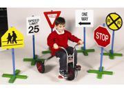 30-Inch High Drivetime Signs for Preschoolers - Set of 6