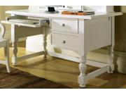 Bella Desk in Multi-Step White Finish