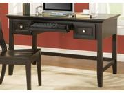 Oslo Writing Desk w Keyboard Drawer in Black