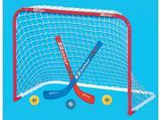 Single Mini Hockey Metal Goal Set
