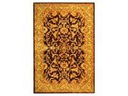 Hand Tufted Wool Rug in Brown & Tan (5 ft. x 8 ft.)