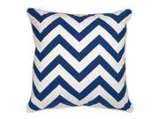 Pillow in Marine Blue