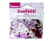 Plastic Bride Confetti - Set of 24