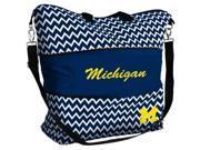 Michigan Chevron Tote Bags