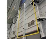 Retractable Ceiling Suspended Goal Post