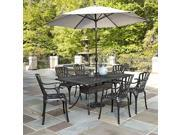 7-Pc Patio Dining Set in Charcoal Finish