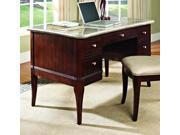 Desk in Merlot Cherry Finish