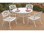 5-Pc Upholstered Dining Set