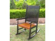Traditional Painted Porch Rocker