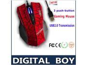High Quality optical mouse Professional Computer Games Wired finger Mouse CF / CS gaming mouse 2.4G Wired mice 3D painting