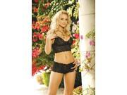 Cami Top W Shorts Black 2X