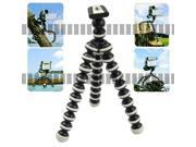 Mini-Tripod Spider Flexible Octopus Tripod Buddy of Smart Cell Phone Apple iPhone 6 Plus 6+ 5S 5C 5 4S 4 Samsung Galaxy S5 S4 Note 3 2 Sony Nikon Canon Pocket Camera DC Camcorder Handycam Webcam -OEM