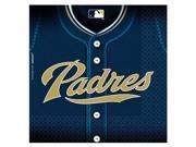 San Diego Padres Baseball - Lunch Napkins