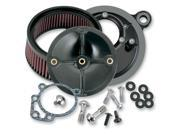 S&S 170-0061 SUPER STOCK STEALTH AIR CLEANER KIT FOR 08-12 Harley FL Tourings by S&S