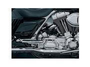 Kuryakyn 516 Crusher True Duals (Head Pipes only) for Harley 10-13 Touring by KURYAKYN