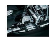 Kuryakyn 488 Crusher Duals (head pipes only) With Power Cell For Harley-Davidson Touring by KURYAKYN