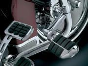 Kuryakyn 4574 Longhorn Offset Dually Highway Pegs With 1 1/2 Clamp For Harley-Davidson by KURYAKYN