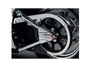 Kuryakyn Swingarm W/LED Cover/Phantom For 00-07 FXTSD Models  Cover Kit For Harley-Davidson by KURYAKYN