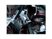 Kuryakyn 7228 Chrome Deluxe Neck Covers for Harley 09-13 Tri-Glide Ultra Classic and 10-11 Street Glide Trikes by KURYAKYN