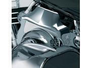 Kuryakyn 7247 Chrome Throttle Body Air Cleaners Cover for Harley 01-13 EFI Softail 02-07 EFI Touring 04-13 EFI Dyna by KURYAKYN