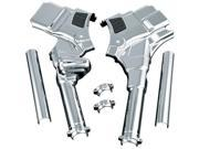 Kuryakyn  Chrome Neck Cover Deluxe For 08 FLHT/FLHR/FLTR/FLHX Kit For Harley-Davidson by KURYAKYN