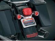 Kuryakyn 3163 Curved License Plate Mount For Harley-Davidson by KURYAKYN