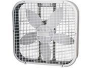 Holmes HBF2010A-WM 20 Box Fan White
