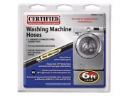 Certified Appliance 77505 Braided Stainless Steel Washing Machine Connector Kit (6 ft)