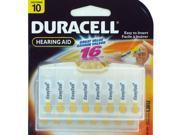 High Capacity DA10B1607 Duracell hearing aid battery 10