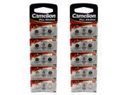 20pcs Camelion AG4 1.5 Volt Alkaline Button Cell  Battery FAST USA SHIP