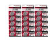 15pc Maxell 3V Lithium Coin Cell Battery CR2025 Replaces DL2025 FAST USA SHIP