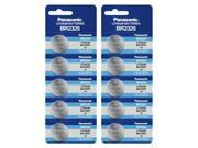 10pc Panasonic Coin Cell Battery BR2325 3V Lithium Replaces KL2325 FREE SHIP