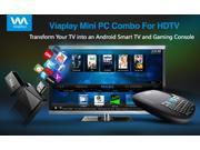 Viaplay Via-TV T1H1 Android mini PC Smart TV stick dongle box Dual Core Cortex-A9 1.6Ghz CPU- Google ...