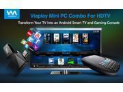 Viaplay Via-TV T1H1 Android mini PC Smart TV stick dongle box Dual Core Cortex-A9 1.6Ghz CPU- Google ...