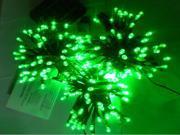 100pcs LEDs Solar led fairy Light solar string light 12M garden decoration light high brightness green color