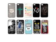 10pcs/lot Color Pattern Back Cover Plastic Case For iPhone 4 4S