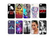 Lot 10pcs Color Pattern Skin Back Case Plastic Cover For iPhone 5 5S