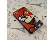 Cute Cartoon Super Mario Super Hero Hard Plastic Case Back Cover For Apple iPhone 5 5S