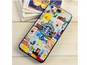 Starbucks Ice Coffee Multicolor Pattern Back Protector Hard Skin Case Cover For Apple iPhone 4 4S