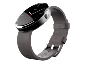 Motorola moto 360 smart watch for Android Devices 4.3 or higher Black Leather