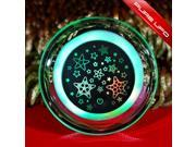YUPENGDA USB Rechargeable UFO Glowing Color Change LED Hand Warmer Power Bank 3200 Mah Moible Charger (Stars)