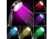YUPENGDA 7 COLOR LED Shower Head Romantic Lights Water for Home Bathroom Use