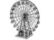 YUPENGDA ZOYO Genuine DIY Simulated Metal Model Ferris Wheel 3D Puzzle Kids Children Educational Toys Gifts