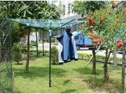 Fashion New 4 Arm Rotary Garden Washing Line Clothes Airer Dryer 50m