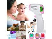 Body Skin LCD Digital Non-Contact Infrared IR Thermometer With Voice Function