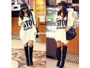 Ladies Casual Autumn Long Sleeve Cotton Tops Hoodie Korea leisure Coat White