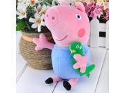 "7.4"" New Hot Soft Peppa Pig George Pig Plush Doll Stuffed Animals Toys Gift"