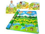 Baby Play Mat Child Activity Foam Floor Soft Zoo Eductaional Toy Gift Gym Crawl