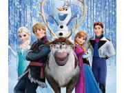 6pcs Movie Frozen Figures Toy Doll Anna Elsa Hans Sven Olaf cake topper Deco